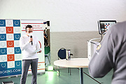 Boxen: Giants Professional Boxing, Session 3, Waage, Hamburg, 16.04.2021<br /> Raiko Morales <br /> © Torsten Helmke