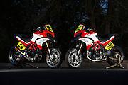Greg Tracy and Carlin Dunne's Ducati Multistradas