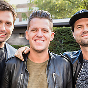 NLD/Amsterdam/20161010 - Perspresentatie SBS Talenten zonder Centen, Nick Schilder, Kees Tol en Simon Keizer