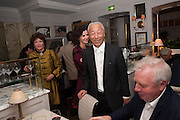 MOLLIE DENT-BROCKLEHURST;  Hiroshi Sugimoto, Dinner to celebrate the opening of Pace London at  members club 6 Burlington Gdns. The dinner followed the Private View of the exhibition Rothko/Sugimoto: Dark Paintings and Seascapes.