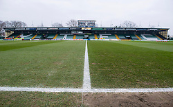 Huish Park  - Photo mandatory by-line: Joe meredith/JMP - Mobile: 07966 386802 - 04/01/2015 - SPORT - football - Yeovil - Huish Park - Yeovil Town v Manchester United - FA Cup - Third Round