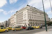 Hotel Grand Bretagne, Syntagma Square, Athens, Greece
