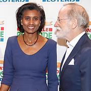 NLD/Amsterdam/20160126 - Goed Gala 2016, Laetitia Griffith en partner Jan Neaye