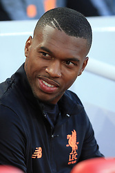 23rd August 2017 - UEFA Champions League - Play-Off (2nd Leg) - Liverpool v 1899 Hoffenheim - Daniel Sturridge of Liverpool starts the match on the substitutes' bench - Photo: Simon Stacpoole / Offside.