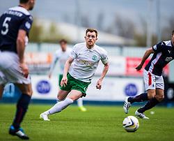 Hibernian's Liam Craig. <br /> Falkirk 0 v 3 Hibernian, Scottish Championship game played at The Falkirk Stadium 2/5/2015.