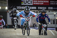 #194 (VILLEGAS Federico) ARG at Round 2 of the 2019 UCI BMX Supercross World Cup in Manchester, Great Britain