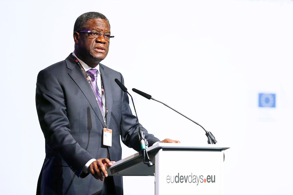 04 June 2015 - Belgium - Brussels - European Development Days - EDD - Closing Panel - From development aid to international Cooperation - Dr Denis Mukwege, Founder and Medical Director, Panzi Hospital, DRC © European Union