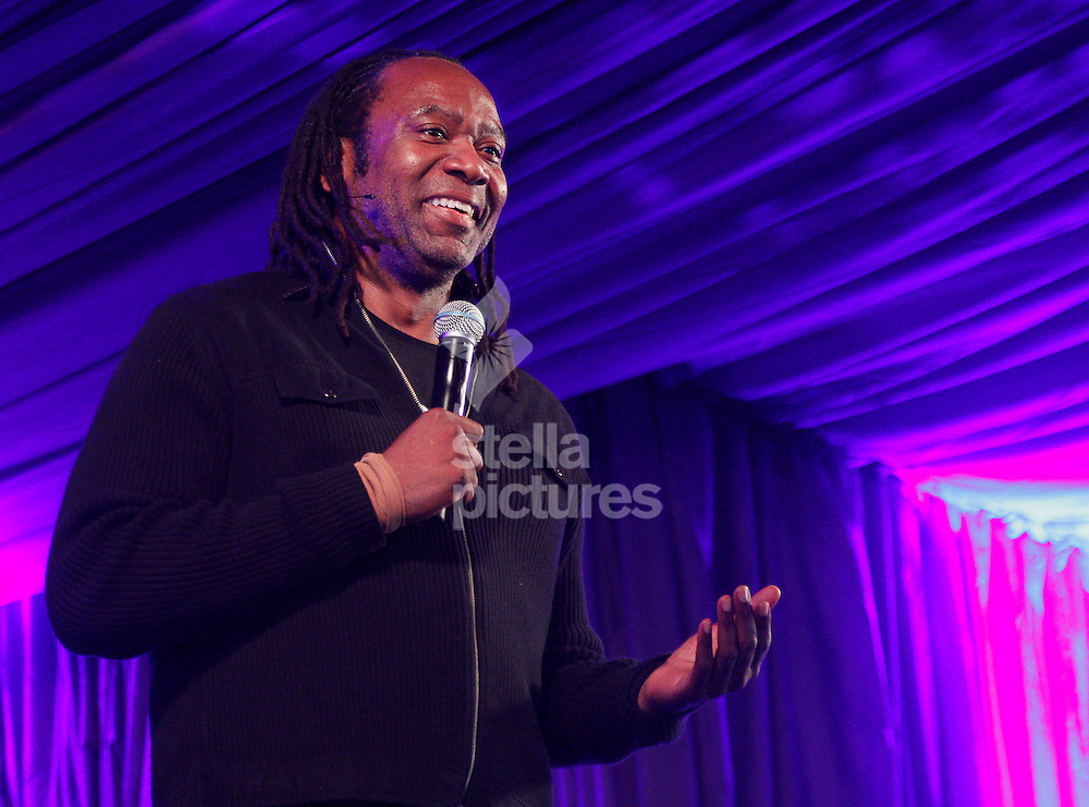Picture by Daniel Chesterton/Stella Pictures. .15/07/12.Reginald D Hunter performs at Latitude, a music and arts festival in Suffolk..