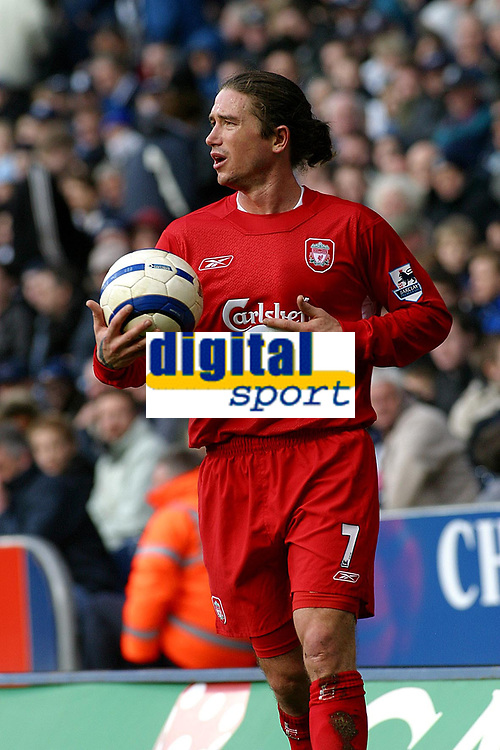 Photo: Dave Linney.<br />West Bromwich Albion v Liverpool. The Barclays Premiership. 01/04/2006.Harry Kewell