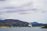 Argostoli Bay, Argostoli, Kefalonia, Ionian Islands, Greece.