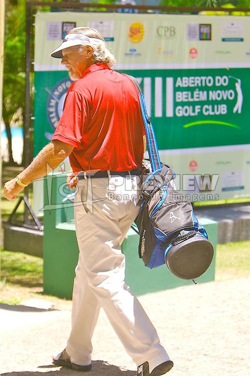 Lance de jogo do XIII Aberto do Belém Novo Golf Club.  FOTO: Itamar Aguiar / Preview.com