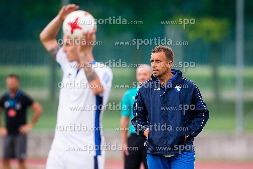 Miran Srebrnic during football match between NK Triglav Kranj and ND Gorica in 6th Round of Prva liga Telekom Slovenije 2017/18, on August 19, 2017 in Sports park Kranj, Kranj. Photo by Ziga Zupan / Sportida
