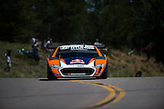 June 30, 2013 - Pikes Peak, Colorado.   Rhys Millen makes his run up the mountain during the 91st running of the Pikes Peak Hill Climb.