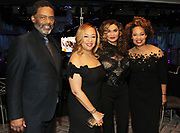 NEW YORK, NEW YORK- FEBRUARY 11: (L-R) Actor Richard Larson, Deryl McKissack Daniel (Honoree), Tina Knowles and Cheryl McKissack Daniels(Honoree) attend the National CARES Mentoring Movement 'FOR THE LOVE OF OUR CHILDREN' Gala Inside held at the Zeigfeld Ballroom on February 11, 2019 in New York City.  (Photo by Terrence Jennings/terrencejennings.com)