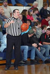 19 January 2013: Dee-Mack Chiefs v Lexington Minutemen boys1st Round McLean County Tournament at Ridgeview High School in Colfax Illinois