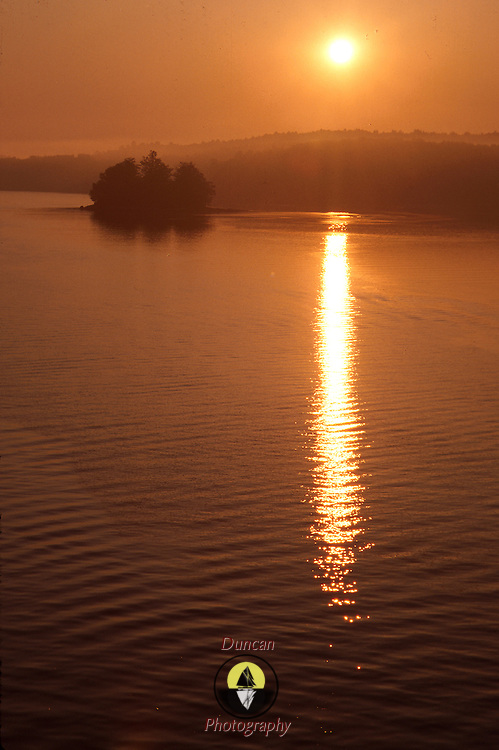 Sheepscot River at Dawn near Wiscasset Maine. .Photo by Roger S. Duncan.  ...