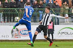 football match between ND Mura and Nafta 1903 in Round #20 of 2.SNL 2017/18 on March 25, 2018 in Mestni stadion Fazanerija , Murska Sobota , Slovenia. Photo by Mario Horvat / Sportida