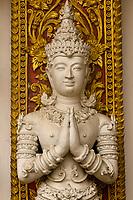 Wat Bupparam (Buddhist temple), Chiang Mai, Northern Thailand