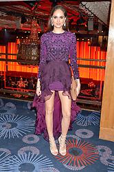 Actress ANITA KAUSHIK at the 6th annual Asian Awards held at The Grosvenor House Hotel, Park Lane, London on 8th April 2016.