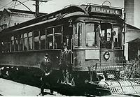 1921 Streetcar on Hollywood Blvd.