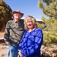 112312       Cable Hoover<br /> <br /> Retired Gallup couple Ken Weeks and Jackie Weeks recently gave a lecture to the Plateau Science Society about their gold panning hobby.
