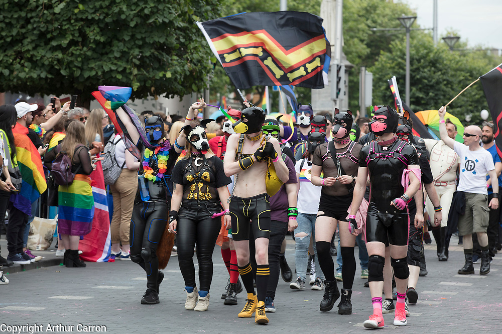 NO FEE PICTURES<br /> 29/6/19 Pride Parade 2019 in Dublin's O'Connell street. Picture:Arthur Carron