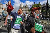 Britain Gurkha Protest