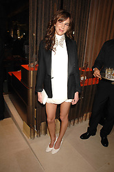 CAROLINE SIEBER at a party at shoe store Sergio Rossi, 207 Sloane Street, London on 4th April 2007.<br /><br />NON EXCLUSIVE - WORLD RIGHTS