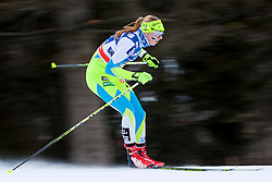 Anita Klemencic (SLO) during the ladies team sprint race at FIS Cross Country World Cup Planica 2016, on January 17, 2016 at Planica, Slovenia. Photo By Urban Urbanc / Sportida