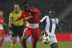 December 6, 2017 - Porto, Porto, Portugal - Soualiho Meite midfielder of AS Monaco FC (L) with Porto's Cameroonian forward Vincent Aboubakar (R) during the UEFA Champions League Group G match between FC Porto and AS Monaco FC at Dragao Stadium on December 6, 2017 in Porto, Portugal. (Credit Image: © Dpi/NurPhoto via ZUMA Press)