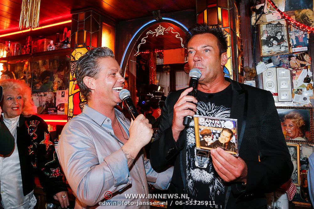 NLD/Amsterdam/20130311 - CD presentatie jubileum cd Danny de Munk, Danny en gerard Joling