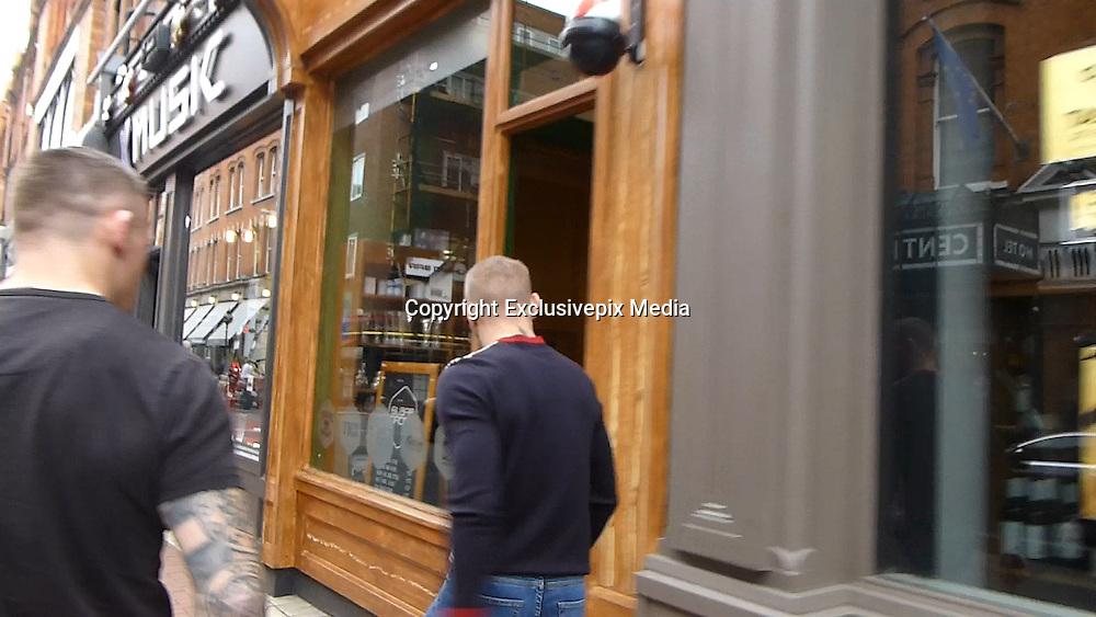 EXCLUSIVE<br /> Conor McGregor entering Sugar Daddy last in Dublin<br /> ©Exclusivepix Media