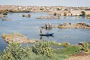 Young men fishing near Gharb Seheil