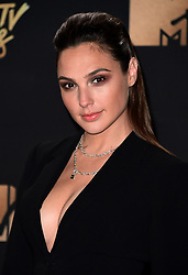 LOS ANGELES, CA - May 7: Gal Gadot  attends the 2017 MTV Movie & TV Awards at the Shrine Auditorium on May 7, 2017 in Los Angeles, California. (Photo by Scott Kirkland/PictureGroup) *** Please Use Credit from Credit Field ***