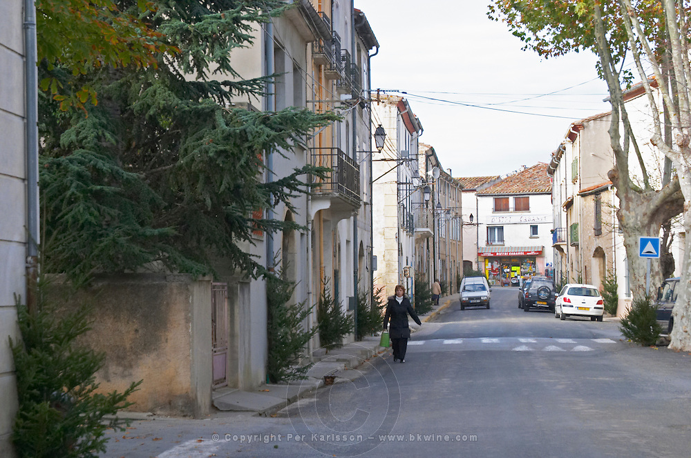Domaine Bertrand-Berge In Paziols. Fitou. Languedoc. France. Europe.