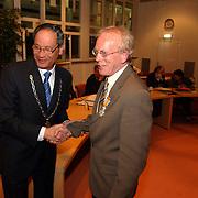 Afscheid raadsleden gemeente Huizen, KO Wim Vrieze