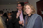 William Stirling and his mother Charmian Campbell, Party to celebrate the publication of 'Rita's Culinary Trickery' by Rita Konig. Morton's. 18 November 2004.  ONE TIME USE ONLY - DO NOT ARCHIVE  © Copyright Photograph by Dafydd Jones 66 Stockwell Park Rd. London SW9 0DA Tel 020 7733 0108 www.dafjones.com