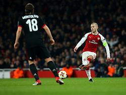 Jack Wilshere of Arsenal - Mandatory by-line: Robbie Stephenson/JMP - 15/03/2018 - FOOTBALL - Emirates Stadium - London, England - Arsenal v AC Milan - UEFA Europa League Round of 16, Second leg