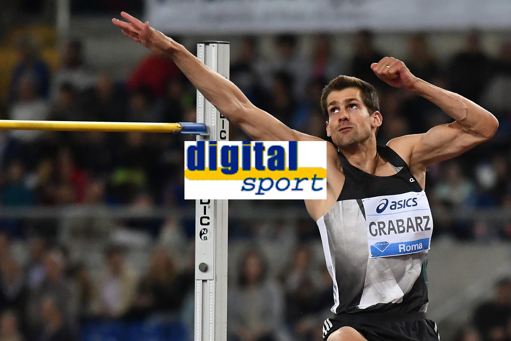Robbie GRABARZ GBR High Jump <br /> Roma 03-06-2016 Stadio Olimpico <br /> IAAF Diamond League Golden Gala <br /> Atletica Leggera<br /> Foto Andrea Staccioli / Insidefoto