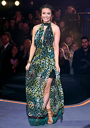 Jess Impiazzi is evicted during the Celebrity Big Brother Final, held at Elstree Studios in Borehamwood, Hertfordshire.