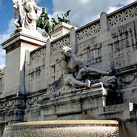 Victor Emanuel fountain, Rome, Italy