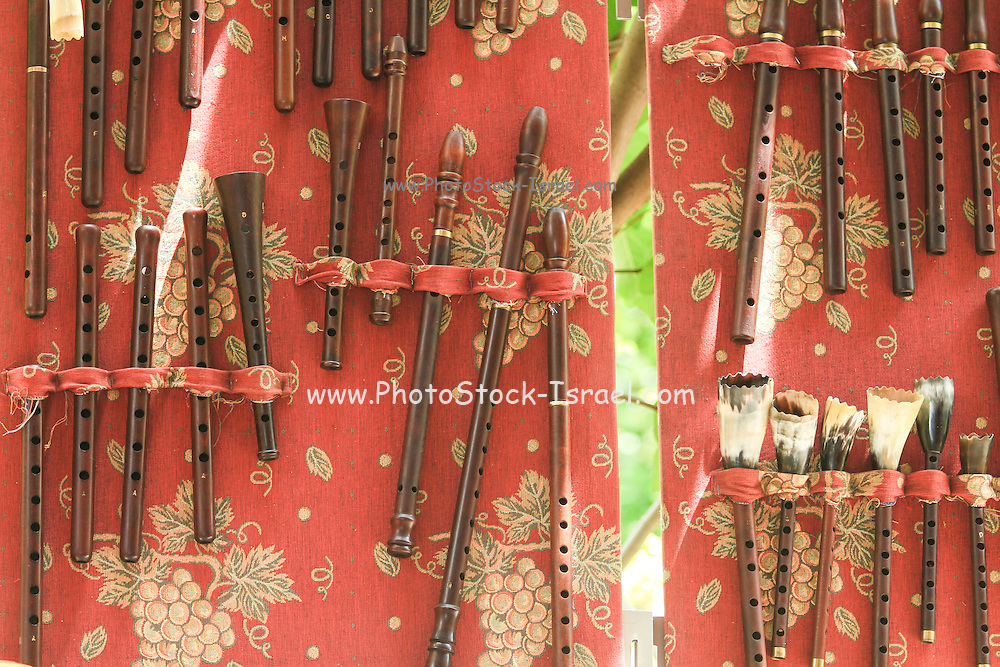 Hand made wooden flutes