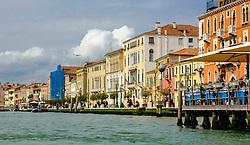 Buildings alongside the Grand Canal in Venice Italy<br /> <br /> (c) Andrew Wilson | Edinburgh Elite media
