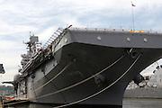 The Iwo Jima during 2009 Fleet Week in New York City held on May 22, 2009..