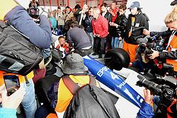 July 1, 2017 - Cicuit Nevers Magny-Cours, France - Jean Alesi (ex pilote de F1 vainqueur d'un grand prix) sur Tyrrell 018 devant les medias (Credit Image: © Panoramic via ZUMA Press)