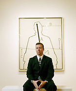 Joe Houston, associate curator of contmeporary art, at the Columbus Museum of Art. (Will Shilling/Alive)