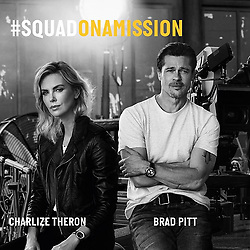 September 10, 2018 - We are proud to introduce today our new #SQUADONAMISSION, the Cinema Squad and its stellar cast : Brad Pitt, Charlize Theron and Adam Driver. More coming soon ! @charlizeafrica . #breitling #squadonamission #navitimer #navitimer8 #pilotwatch #watches #icon #bradpitt #charlizetheron #adamdriver #cinema #hollywood #paramount #actors #movie #moviestar  BREITLING via globallookpress.com (Credit Image: © Breitling/Russian Look via ZUMA Wire)