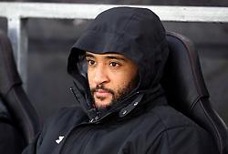 Southampton's Nathan Redmond on the bench
