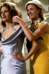 Aug 07, 2002; Hollywood, CA, USA; Actress JULIA ROBERTS as Julianne 'Jules' Potter and Actress CAMERON DIAZ as Kimberly 'Kim/Kimmy' Wallace star in 'My Best Friend's Wedding' Directed by P. J. Hogan..  (Credit Image: ZUMA Press/ZUMAPRESS.com) (Credit Image: © ZUMA Press/Entertainment Pictures/ZUMAPRESS.com)