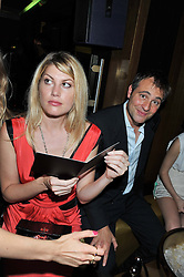 MEREDITH OSTROM and BEN GOLDSMITH at the Johnnie Walker Gold Label Reserve Launch Party at Whisky Mist, 35 Hertford Street, London on 18th July 2012.